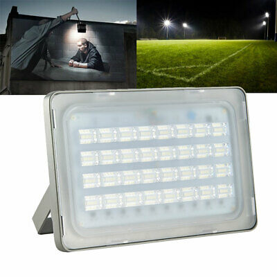 100W LED Floodlights Outdoor Security Spot Light Project Garden Cool White Lamps