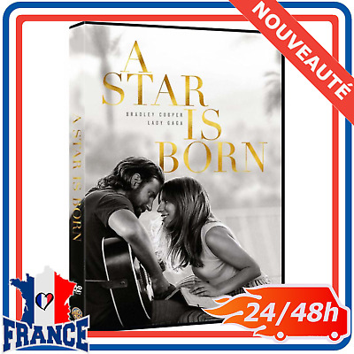 A Star Is Born 2018 DVD Lady Gaga Bradley Cooper Film Best Seller Oscars 2019 FR