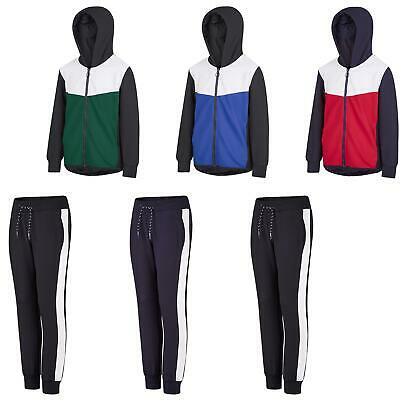 Kids Top or Bottoms Girls Flute Material Hooded Jacket Boys Joggers 134-164cm