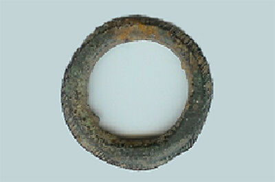 Early Celtic – France/Spain - Bronze Ring Money - 150 to 50  BC