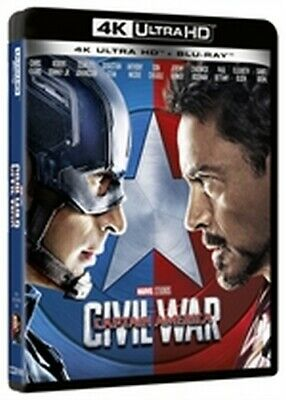 Captain America - Civil War (4K Ultra HD + Blu-Ray Disc)