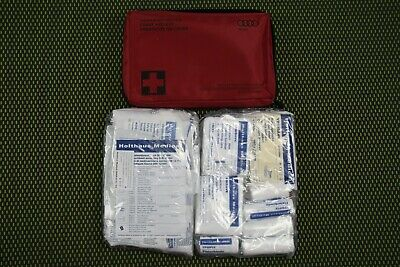 Original Audi Verbandtasche 4E0860282D Verbandskasten first aid bag 08/2021
