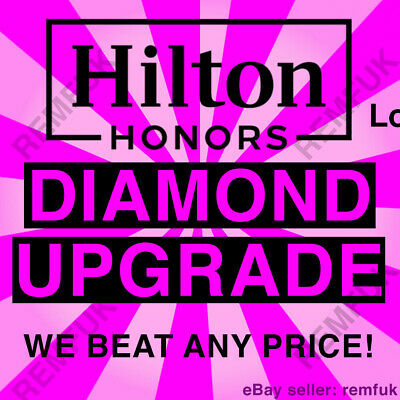 🍒 Hilton Diamond Status Upgrade 🍒