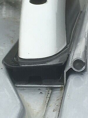 VW T5 SWB bolt on (1 piece no drilling) awning rail camper Roof Bars or Pop Top