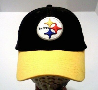 22296315e91d9 NFL PITTSBURGH STEELERS Yellow One Size Fits All Uncuffed Knit Hat ...