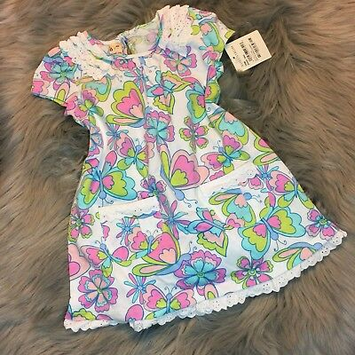 e492e1d647ce NWT Sweet Ivy Nordstrom Baby Girl Colorful Butterfly Dress Sz 18 Months  CUTE!