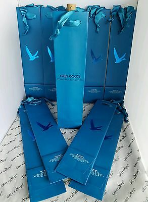 10 Grey Goose Collection Branded Liquor Bottle Gift Bags