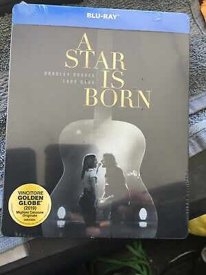 A Star Is Born Blu Ray Steelbook Sigillata Ed Italiana Rara Fuori Catalogo