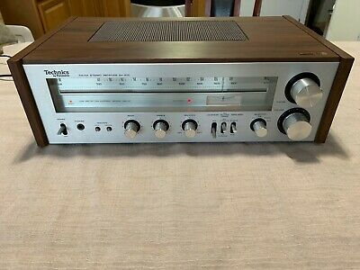 Technics SA-200 AM/FM Stereo Receiver, Very Good, Works Great