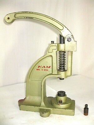 KAM DK98 Manual Snap Press Heavy Duty Commercial for Snaps, Grommets, Buttons