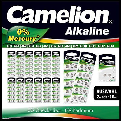 CAMELION Knopfzelle Silberoxid Auswahl 1,5V 393 392 377 396 364 379