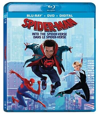 Spider-Man: Into The Spider-Verse (Bilingual) - (Blu-ray + DVD + Digital) *NEW**