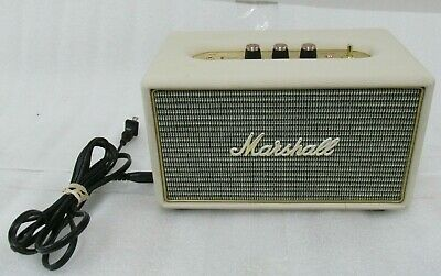 Marshall Acton Bluetooth Speaker, Cream
