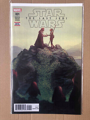 Star Wars The Last Jedi #1 - Marvel Comics - 1St Print Brand New B&B