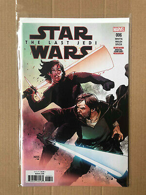 Star Wars The Last Jedi #6 - Marvel Comics - 1St Print Brand New B&B
