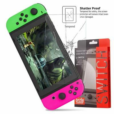 Protection Ecran pour Nintendo Switch en Verre Trempé Pack de 2 Films Protecteur