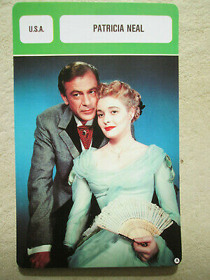 Fiche Biographique Patricia Neal Actrice Actress Usa Pin Up  Mr Cinema