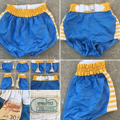 Vintage Shorts Spanjian Pasadena Size 30 SPALDINGS The Sports Store Calif