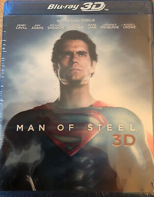 Man Of Steel Blu-Ray 3D Neuf Sous Blister