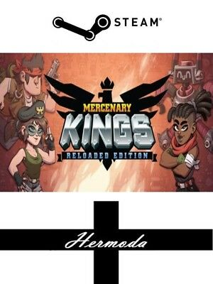 Mercenary Kings: Reloaded Edition Steam Key - for PC, Mac or Linux