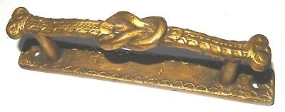 Brass Knotted Antique Finish Kitchen Table Drawer Knobs Cabinet Pull Door Handle