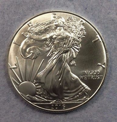 2016 1 oz Silver American Eagle FRESH OUT OF MINT TUBE BU Coin .999 1oz.