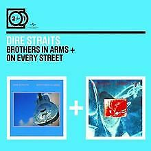 2 for 1: Brothers in Arms/on Every Street de Dire Straits | CD | état bon