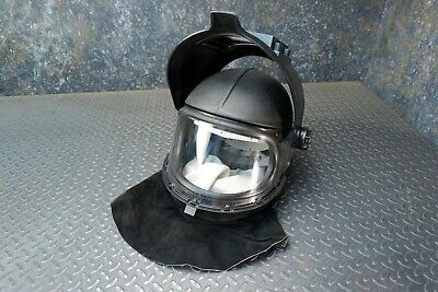 3M Whitecap II Helmet With Leather Shroud and Welding Face Shield