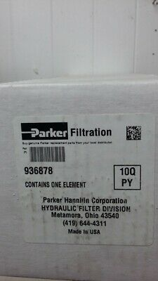 Parker Hydraulic Filter Element 936878 / NOS
