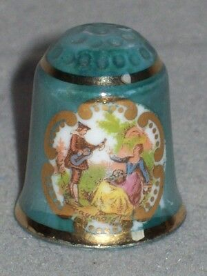 Porzellan Fingerhut Thimble - Reutter - W. Germany