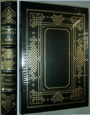 FATHERS & SONS by Ivan Turgenev Easton Press Leather Brand New Sealed