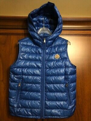77aab04dd45 Moncler Patrick Men Down Padded Hooded Vest Gilet Jacket XS or 164 or 14  years
