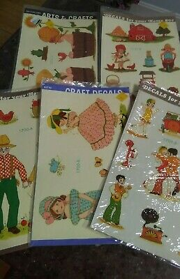 Meyercord Decals Vintage Image Multi sheets 1970's Decals