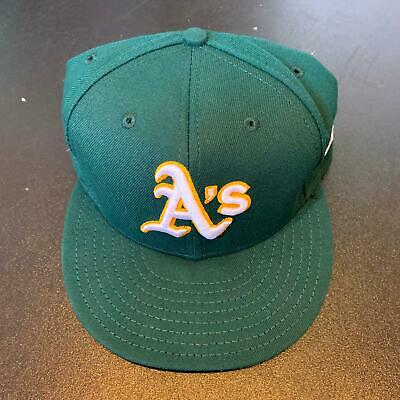 Bob Melvin Game Used Cap From 2018 Yankees A's Wild Card Postseason Game MLB