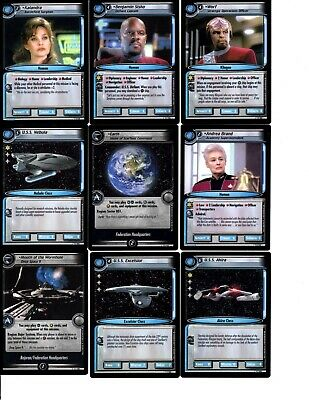 Star Trek 2E Premiere Trading Cards Large Lot 2 Pounds 2005 Ccg