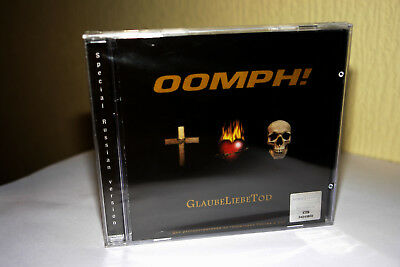 OOMPH! - GlaubeLiebeTod - Special Russian Version NEW & SEALED! SONY/BMG Russia
