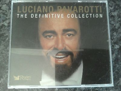 Luciano pavarotti the definitive collection 4 CD set classical music