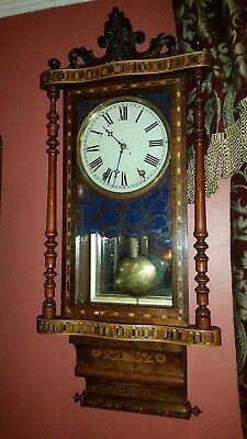 Vintage Ansonia Wall Clock