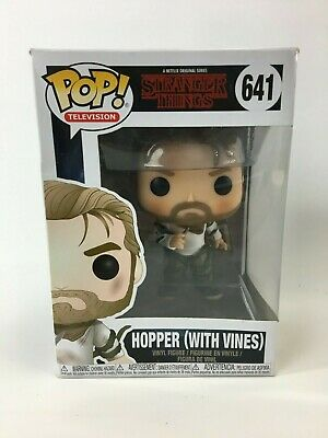 Funko Pop! TV: Stranger Things Hopper with Vines Collectible Figure NEW