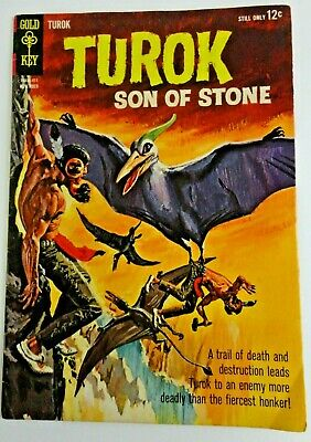 TUROK  #42 *FN/FN+ Solid!* (GOLD KEY 1964)   -combine ship-