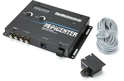 AudioControl Epicenter Digital Bass Restoration Processor Black Concert Series