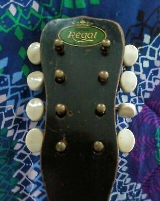Regal guitar waterslide headstock decal