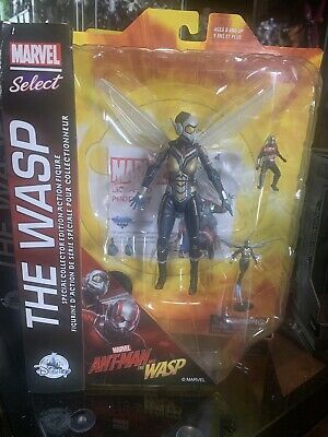 Marvel Select The Wasp Disney Store Edition VHTF minor flaws to card