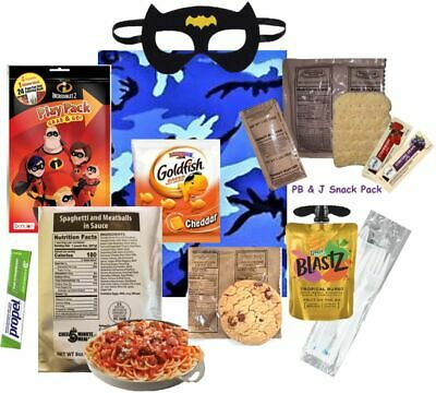NEW:  KIDS MRE - Full Meal - Several Entrée Options w/ Play Pack & more! '20-'21