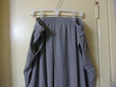 Briggs New York Women's Casual Pants Size 26W Gray Pull On Pockets