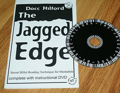 The Jagged Edge --(Docc Hilford, 2006)--booklet and DVD, nice utility move  TMGS