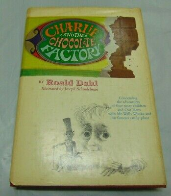 Charlie and the Chocolate Factory - Roald Dahl - First Edition / 2nd State 1964