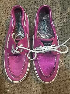 YG50783 Sperry Top-Sider Angelfish Original Gore Boat Shoe Girls Gold//Pink