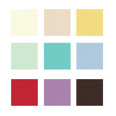 """Broadcloth Fabric 45"""" Cotton Polyester Blend By the Yard"""