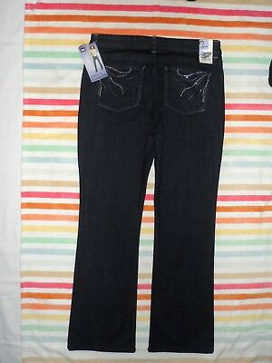 014840c4 Nwt Sz 16M Womens Lee Lower On The Waist Bootcut Stretch Jeans Slender  Secret